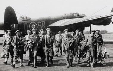 Avro Lancaster bomber  May 1945.