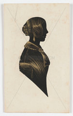 Silhouette of Catherine Dodds Grey  c 1840