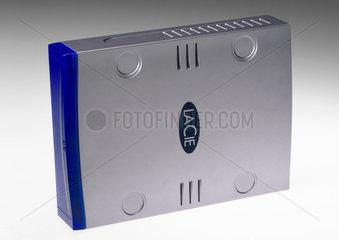 LaCie portable hard drive  2004.