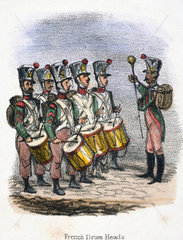 'French Drum Heads'  c 1845.