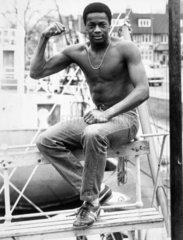 Justin Fashanu  British footballer  c 1980s.