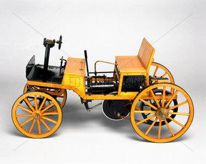 Siegfried Marcus petrol motor car  1875.
