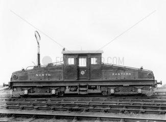 North Eastern Railway bo-bo electric locomotive  No 1 or No 2  c 1904.
