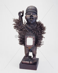 A male fetish figure from the Congo  central Africa  c 1880-1920.