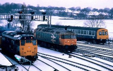 Class 31  class 47 and a Diesel Multiple Un