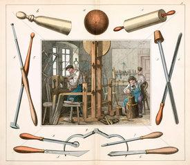 The wood turner  1849.