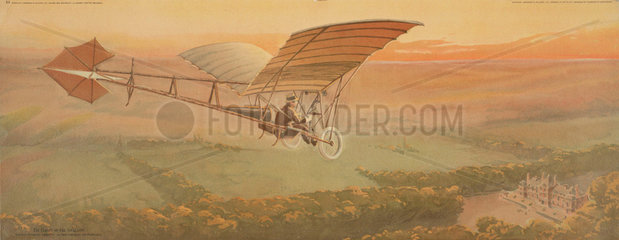'The Flight of the Swallow'  1910-1912.