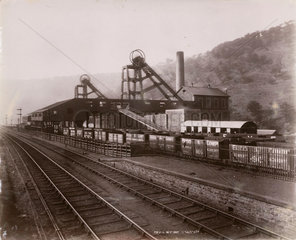 'Royal Marine Collieries'  Ebbw Vale  Wales  1880-1895.