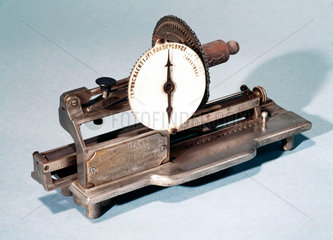 'Columbia' typewriter  1886.