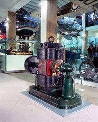 Crompton direct current generator  Science Museum  2001.