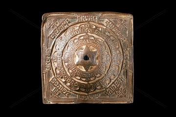 Yantra meditation plaque  India  1800s.