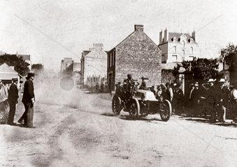 'Levegh' winning the Paris-Toulouse-Paris race  1900.