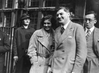 Marriage of Jennie Lee and Aneurin Bevan  2