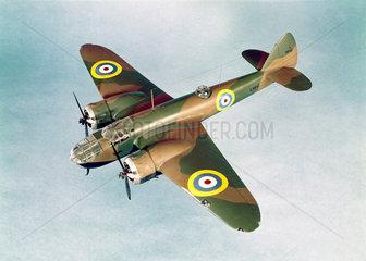 Bristol Blenheim bomber  1939.
