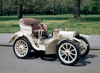 Two-seater Rolls-Royce motor car  1904.