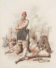 'The Slaughterman'  1804.