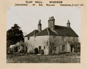 Clay Hall  old Windsor  Berkshire  1950-1958.