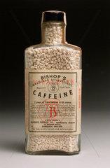 Bottle of effervescent caffeine  1925-1960.