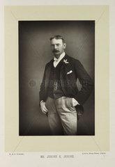 'Mr. Jerome K. Jerome'  1893.