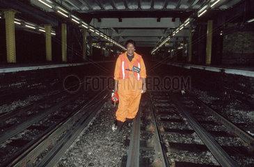 Fluffer  Whitechapel Station  London  1996.
