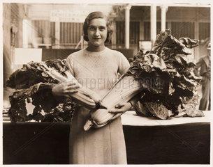 Monster vegetables  Crystal Palace  19 September 1934.