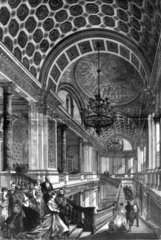 Foreign Office Staircase  London  1868.