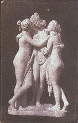 Statuette of the Three Graces  1841.