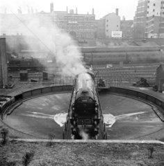 Locomotive number 60117  1950