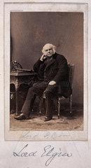 Lord Elgin  British diplomat  c 1860.