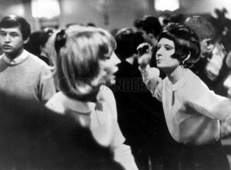 'Dancing Modsters at Catford'  Greater London  12 February 1964.