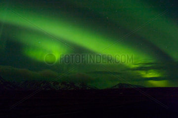 Aurora Borealis  Iceland  13 March 2005.