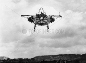 'Flying Bedstead'  3 February 1955.