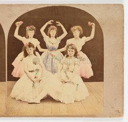 Dancers  c 1885 .