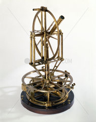 Ramsden's 18 inch geodetic theodolite  late 18th century.
