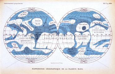 The planet Mars  1880.