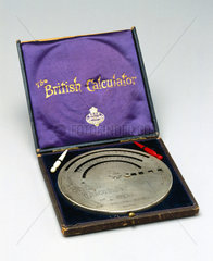 The 'Brical' British calculator  1905.