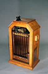 Edison's kinetoscope  1894.