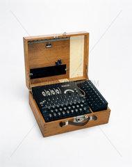 Four-rotor German Enigma cypher machine  1939-1945.