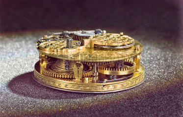 Circular watch  c 1660.