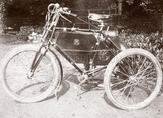 C S Rolls' de Dion tricycle  1897.