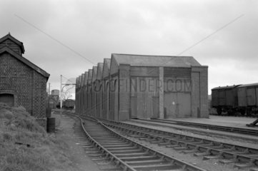 Bridgend (coity) engine shed  25 March 1951.