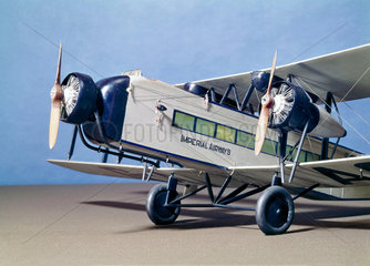 Imperial Airways Armstrong Whitworth Argosy Airliner  c 1925.
