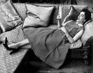 Elizabeth Taylor  American actress  c 1958.