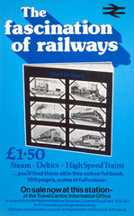 'The Fascination of Railways'  poster  1978.
