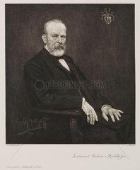 Ferdinand von Richthofen  German geographer and geologist   c 1900.