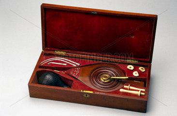 Tobacco resuscitator kit  late 18th century.
