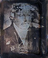 Louis Jacques Mande Daguerre  French photography pioneer  c 1840s.