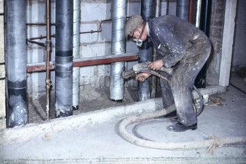 Limpet spraying  1964-1970.