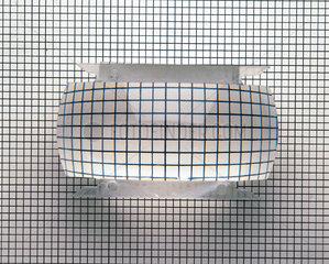 Optical effect of a convex lens  c 1990s.