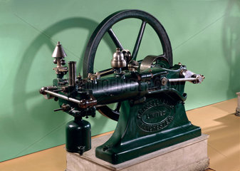Otto gas engine  1876.